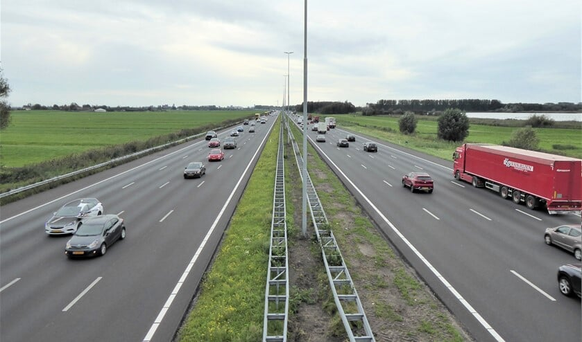 <p>Rijksweg A4 (foto: Agnes van Boheemen).</p>