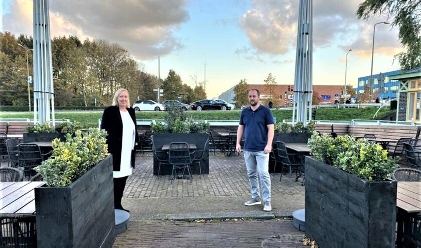 <p>Buitenterras bij The River aan de Kerkstraat (hoek Oude Haven) bij de vliet in Voorburg (foto: gemeente LV).<br><br><br><br><br></p>