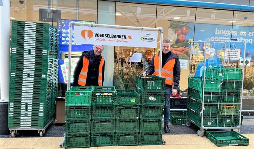 <p>De voedselbank heeft veel hulp gehad van zo&#39;n 75 vrijwilligers, waaronder van de Rotary Club, de Lions Club en PuuRR aan de Vliet (foto: pr). </p>
