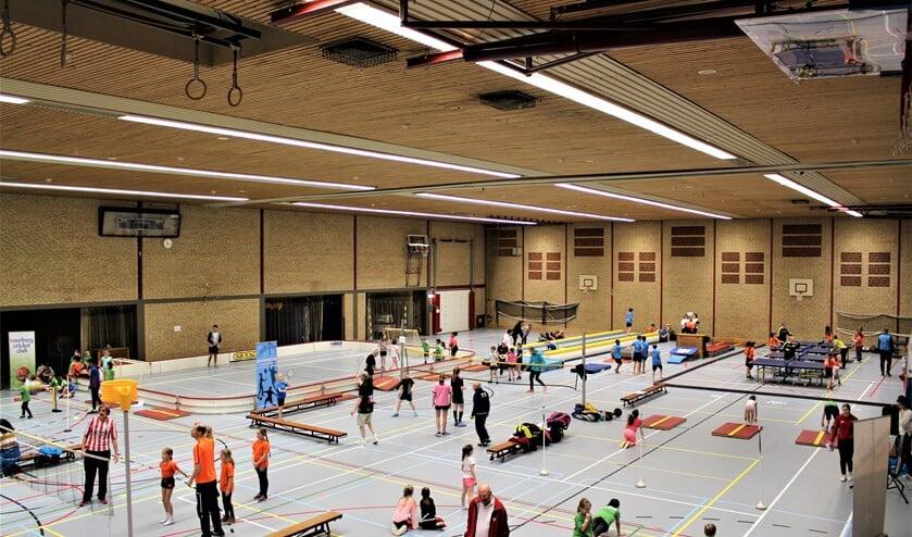 De Sport-In vindt weer plaats in sportcomplex De Fluit in Leidschendam (archieffoto SenW).