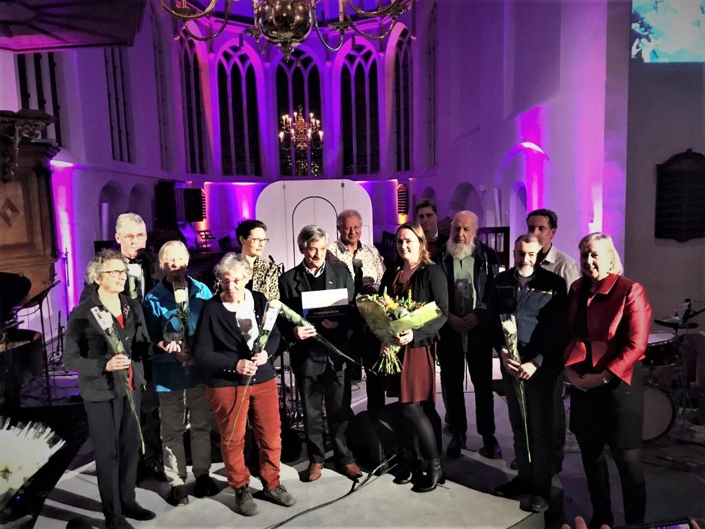 Winnaar Vliet Award cultuur 2019:  Het Erfgoedpodium (foto: Jacq Cornelissen).  © Het Krantje