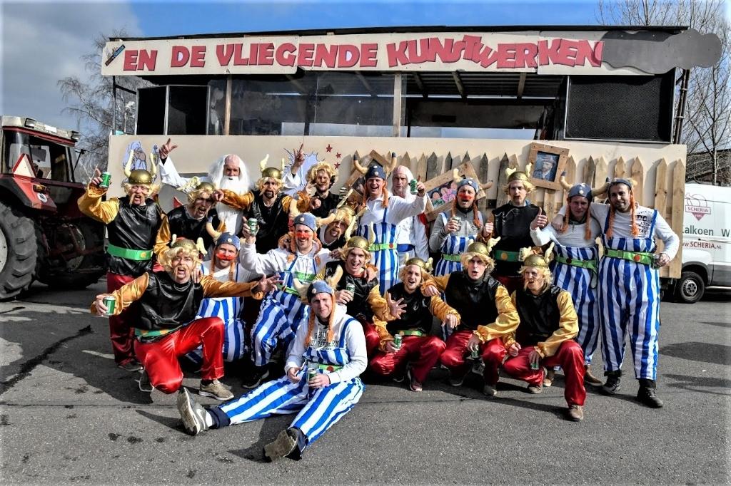 Carnaval in Stompwijk (foto: Carmen Olijhoek). CARMEN OLIJHOEK © Het Krantje