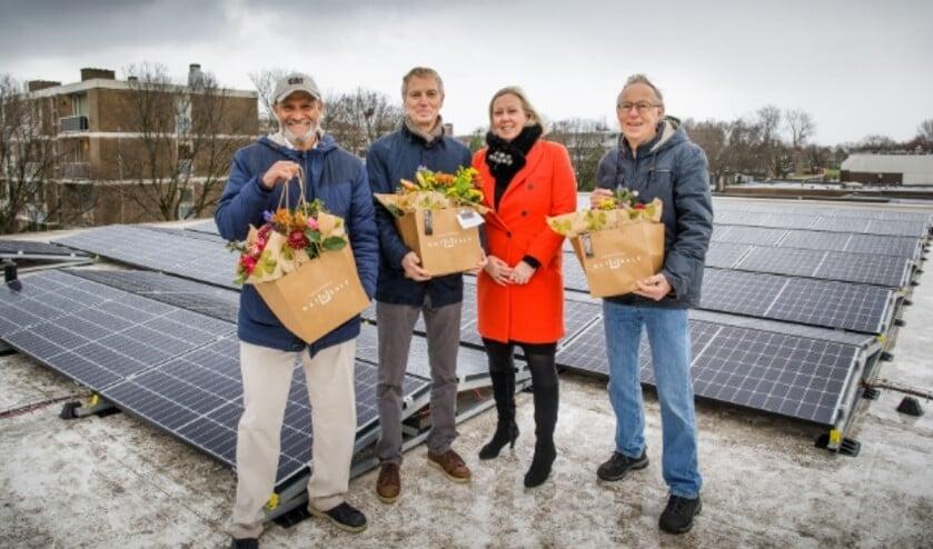 De gemeente stimuleert lokale initiatieven van harte, zoals het project van energiecoöperatie Zon op LV  (Foto: Paul Voorham).