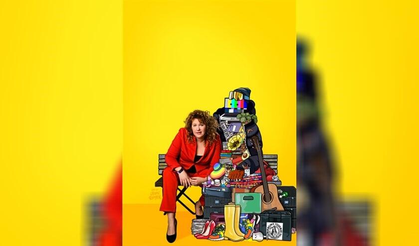 <p>Kiki Schippers bedrijft satire bij Spijkers met Koppen, schrijft columns voor het AD en ontving de Annie M.G. Schmidtprijs (foto: pr).</p>