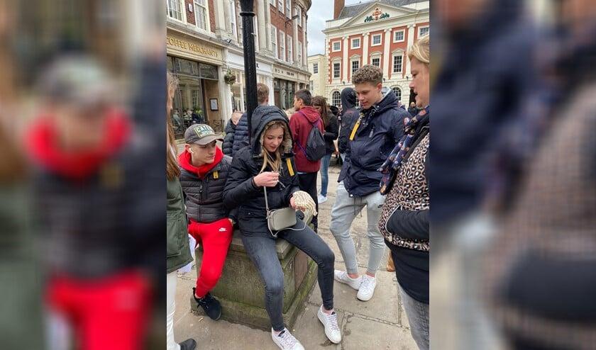 De CKV-route leidde de leerlingen langs alle bezienswaardigheden van York met bijbehorende foto-opdrachten (foto: pr).