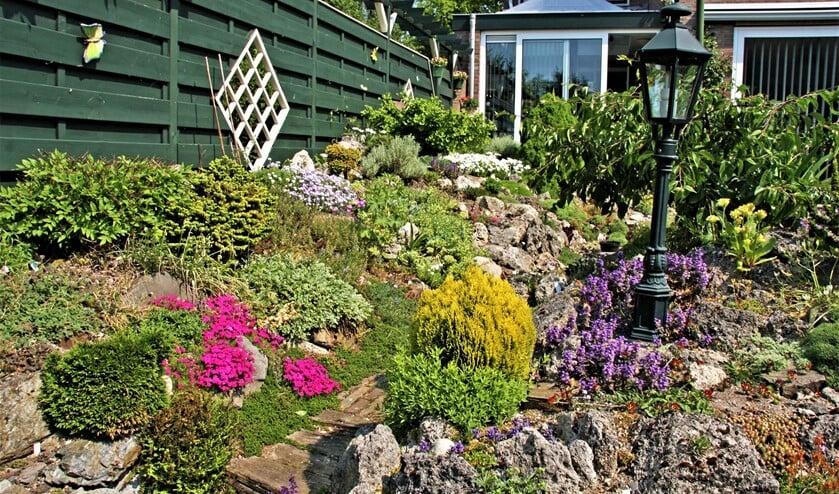 Voorbeeld van een mooie tuin (foto: Groei & Bloei).