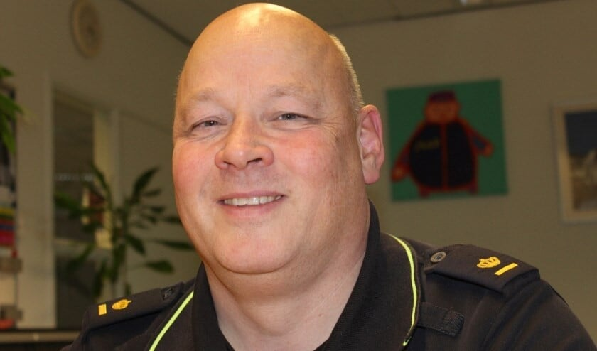 De - inmiddels - voormalig teamchef van politiebureau Leidschendam-Voorburg (archieffoto DJ).