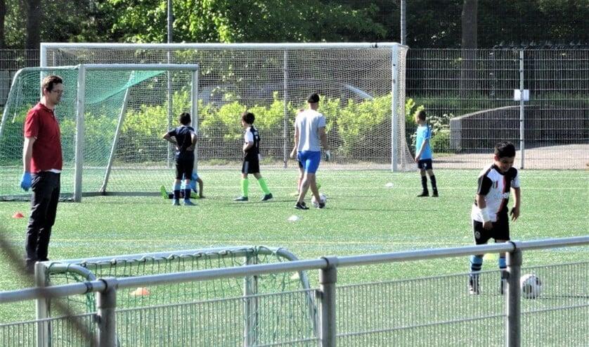 De training is weer van start gegaan bij Forum Sport (foto: Ap de Heus).