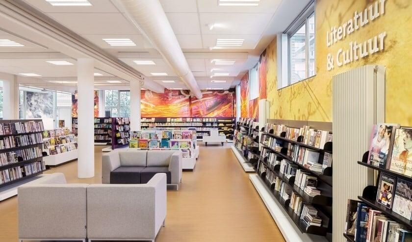 De bibliotheek in Voorburg (archieffoto).