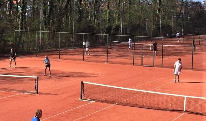 Tennispark Vreugd en Rust is het nieuwe onderkomen van de Tennisvereniging Residentie (foto: pr).