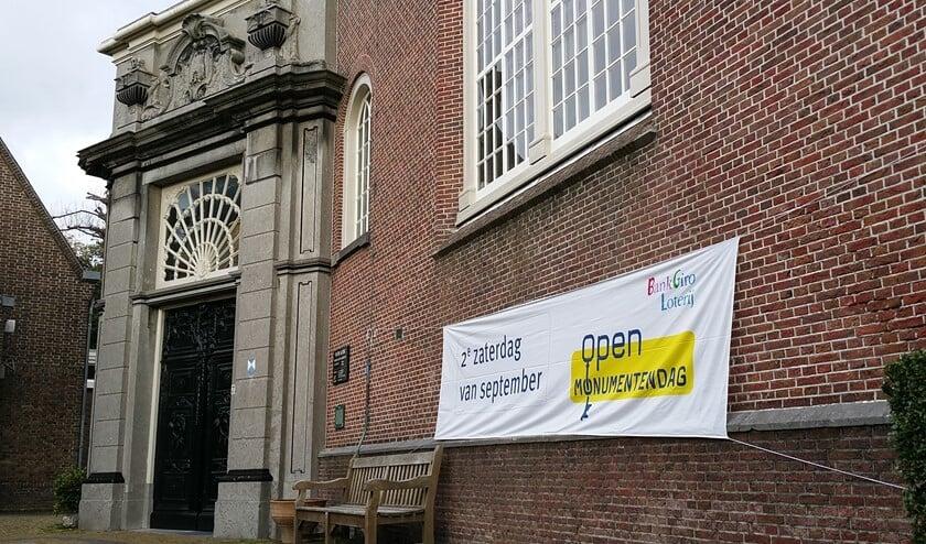 Het monument De Oude Kerk in Voorburg. Dit jaar gaat de Open Monumentendag niet door in Leidschendam-Voorburg (foto: pr).
