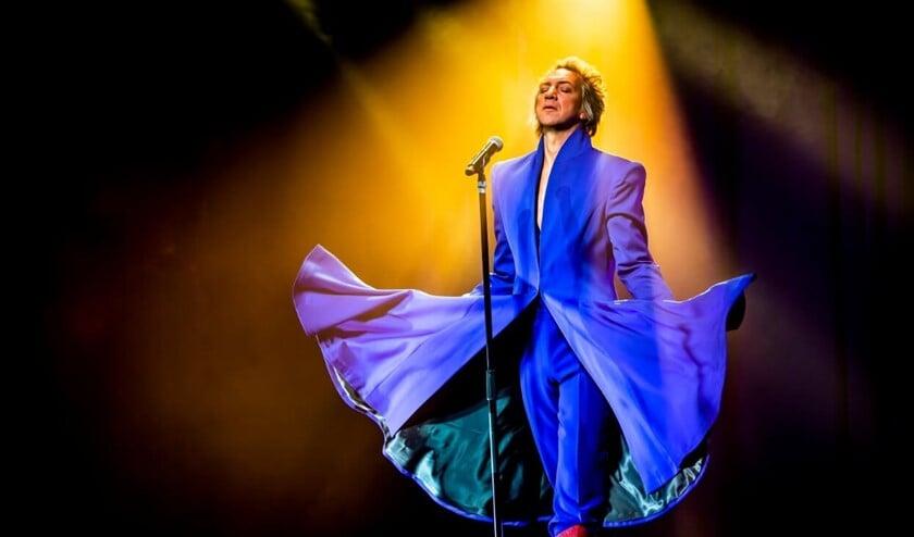 Dat Sven Ratzke één van de beste Bowie-vertolkers is, bewijst hij wederom met zijn nieuwste show 'Where Are We Now' (foto: pr).