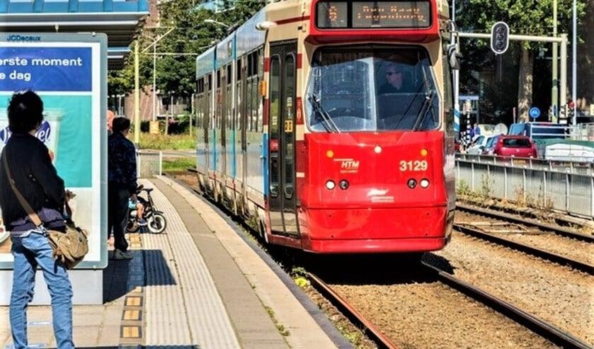 HTM tramlijn 6 halte Leidschendam (foto: pr).