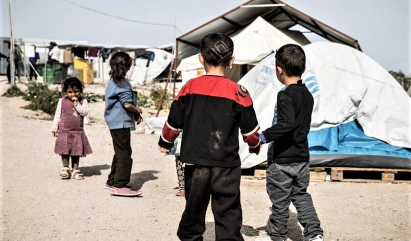 GroenLinks, PvdA en D66 vinden dat de situatie van de vluchtelingenkinderen te uitzichtloos is om niet de helpende hand uit te steken (foto: pr).