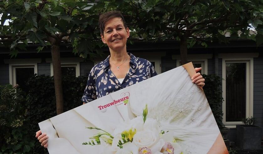 Conny van Dijk coördineert de trouwbeurzen
