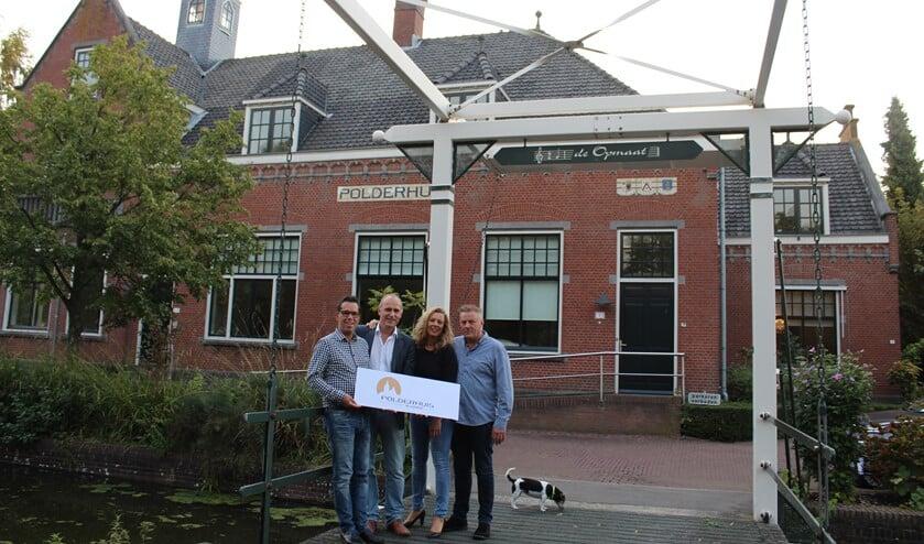 <p>Marc, Pieter, Mieke en Leon.</p>