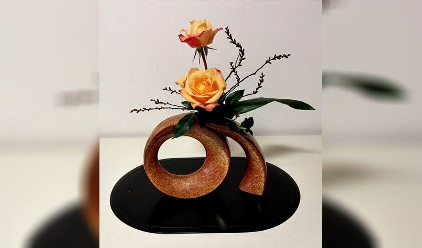 Japanse bloemschikkunst.