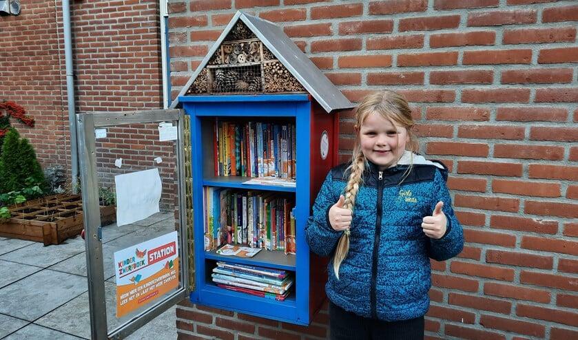 <p>Izzy&rsquo;s kinderboekenhuisje is inmiddels een begrip in Koningshof.</p>