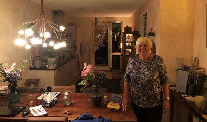 Diny van Doornewerd is blij dat het Van Harte Resto na de vakantie weer open gaat. Foto: Marcel Daniëls