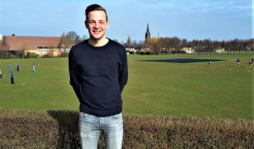 <p>Vrijwilliger Floris de Lange van VCC (foto: pr LVvoorelkaar.nl).</p>