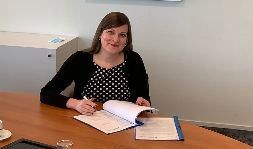 <p>Wethouder Marieke van Bijnen gaf antwoord op veel vragen rondom het beleidsplan Schuldhulpverlening.&nbsp;</p>