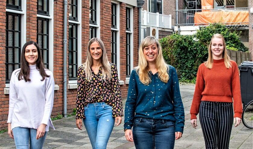 <p>Het team van Prima Voeding (vlnr): Burcu Barut, Lisa Maquelin, Liesbeth Smit-Verbruggen Samantha Boymans (foto: Barbara Koppe). </p>