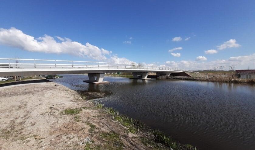 De Gemaalbrug over de Nieuwe Vaart in Stompwijk (foto: gemeente Leidschendam-Voorburg).