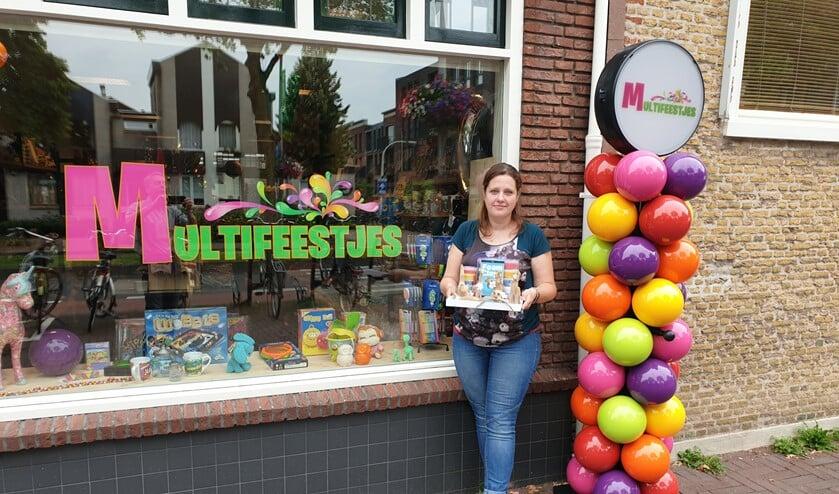<p>Sandra de Rek van MultiFeestjes.nl.</p>