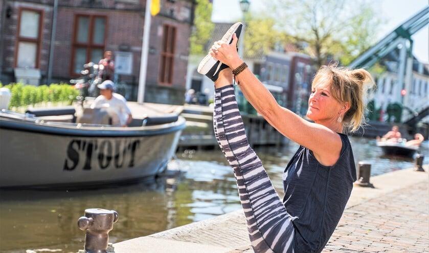 <p>Natascha Huige is blij dat zij Ekam Yoga eindelijk kon openen op 5 juni (foto: PR). </p>