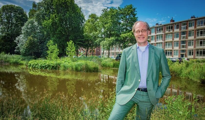<p>Wethouder Floor Kist vindt dat het vergroten van het woningaanbod niet ten koste van groen moet gaan&quot; (tekst: Inge Koot, foto: gemeente LV).</p>
