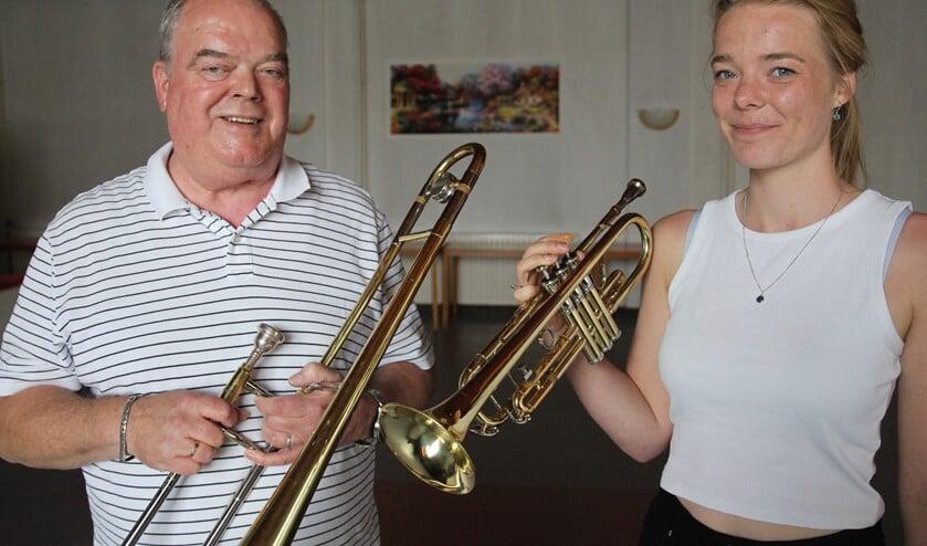 <p>Peter en Dunya vinden het heerlijk om met andere muziek te maken. Ze zien graag nieuwe nieuwe jeugdleden en volwassenen.</p>