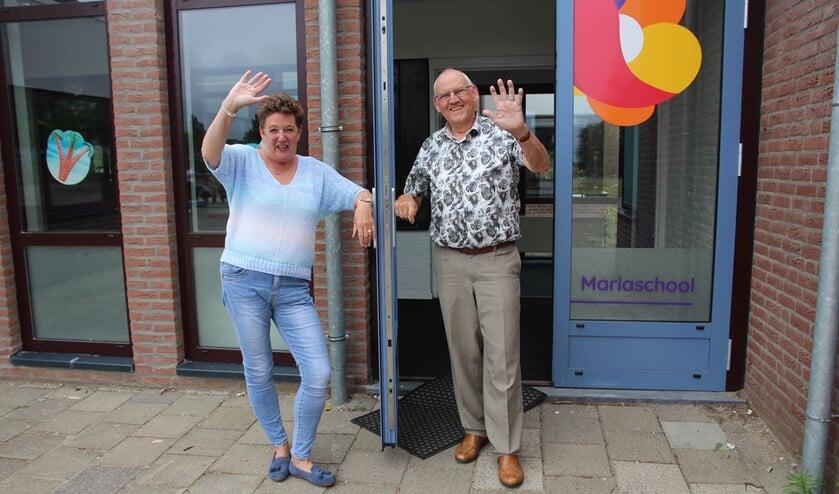 <p>Met het vertrek van Martha en Bert gaat er 87 jaar onderwijservaring weg bij de Mariaschool!</p>