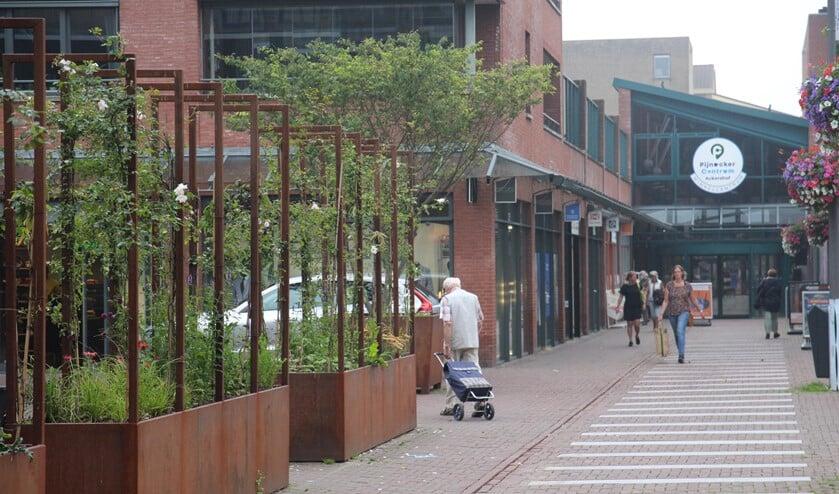 <p>Vanuit de overeenkomst is het centrum opgefleurd met bloembakken en is de verbinding tussen Ackershof 1 en 2 verbeterd.</p>