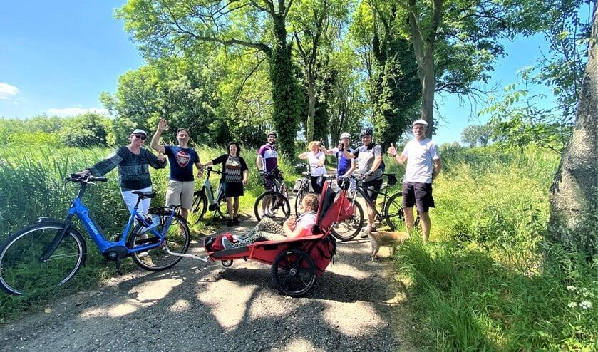 <p>Serviceclub Kiwanis organiseert een &lsquo;gewone&rsquo; fietstocht voor oogbesturingscomputer voor Kirsten uit Bleiswijk (foto: pr).</p>