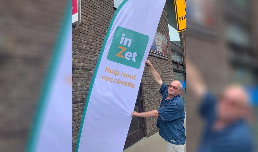 <p>InZet helpt bij vaccinatie</p>