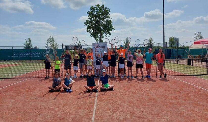 Sportiviteit maar ook veel plezier bij Tennis3daagse