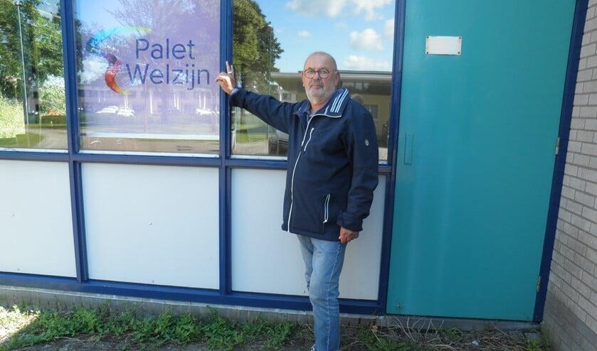 """Theo Smit voorzitter van Senioren Bridgeclub Zoetermeer: """"Wij zijn plotseling dakloos."""" Foto Kees van Rongen"""