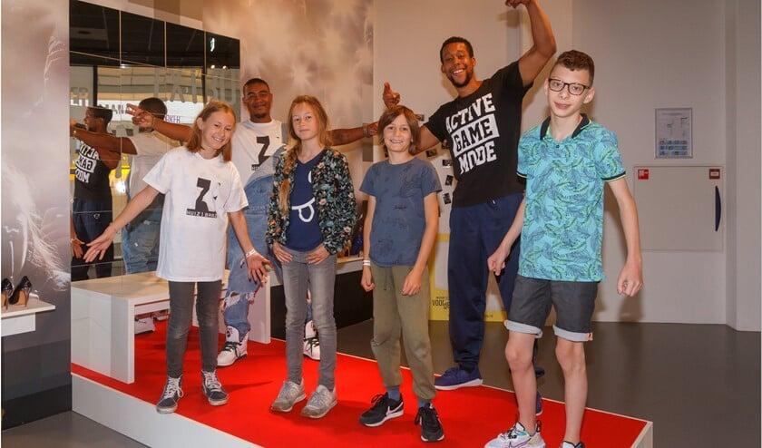 <p>Rappen en breakdance in Museum De Voorde. Foto: Richard Jetten</p>