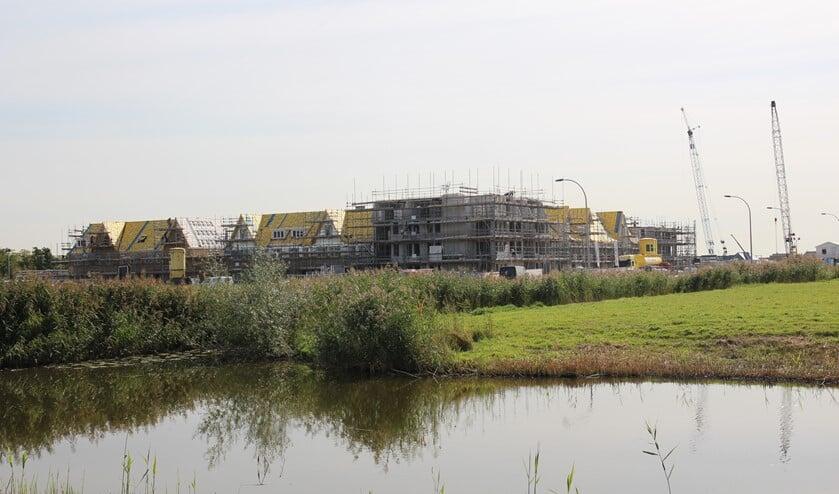 <p>De bouw van Tuindershof ten westen van Keijzershof is enkele maanden geleden begonnen.</p>