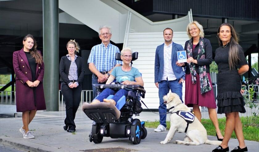 Ondanks de trap op de achtergrond is Gymworld goed toegankelijk voor mindervaliden