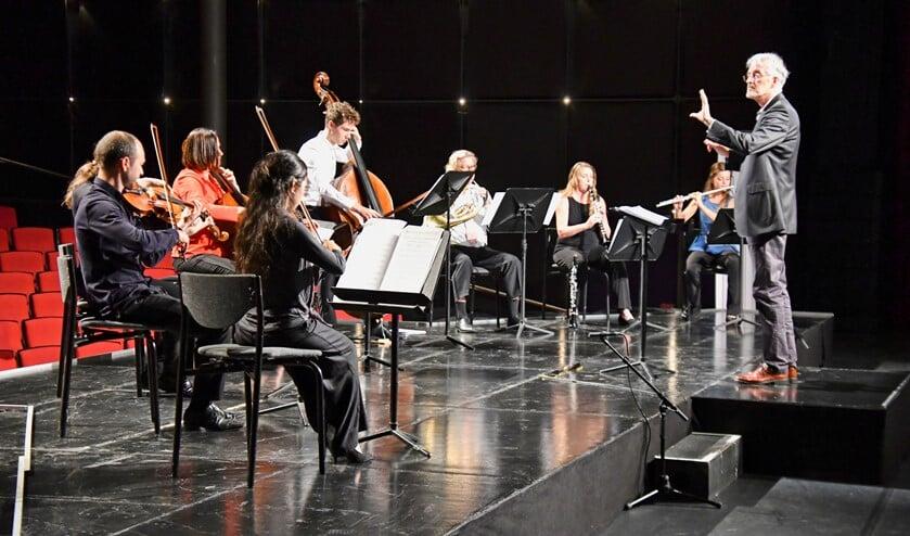 Het Ebony Ensemble treedt op met de Eroïca. Foto: Gerard van Warmerdam