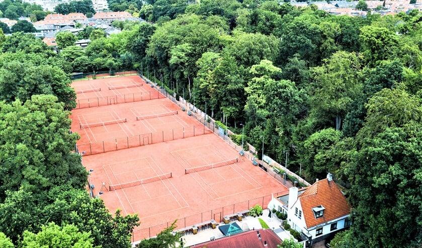 Luchtfoto Tennispark Vreugd & Rust (copyright: KNLTB 2018).