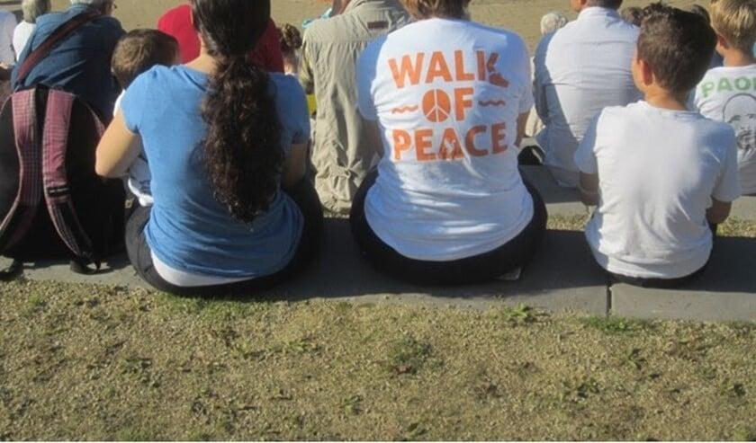 <p>Start Vredesweek met Walk of Peace</p>