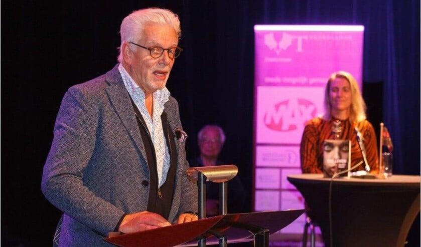 Jan Slagter reikte vorig jaar de Thrillerprijzen uit
