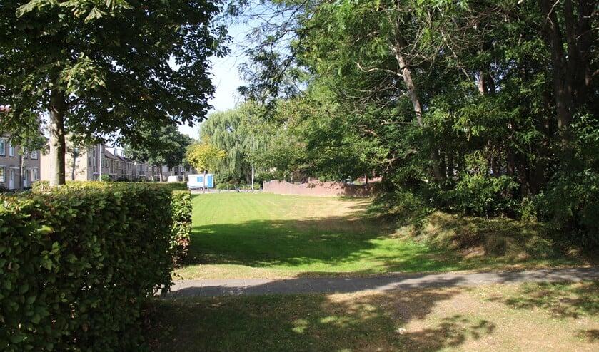 <p>Onder het wijkpark van Klapwijk komt een waterbuffer.</p>