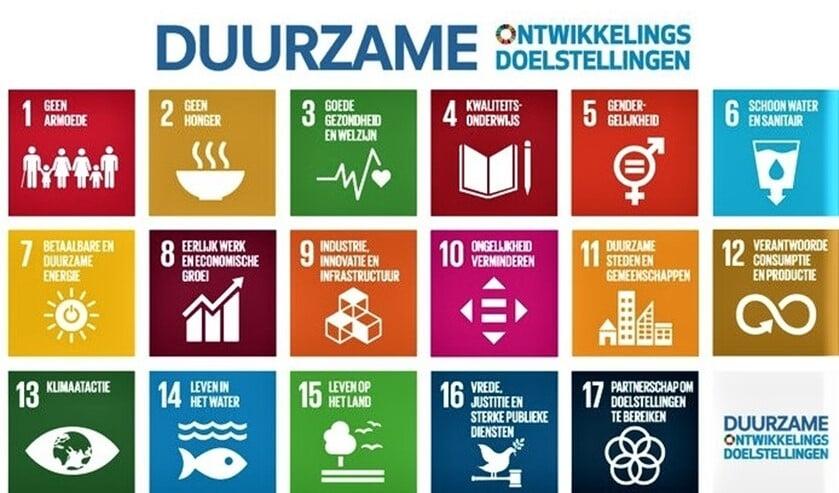 <p>Tijdens de VNG Gemeenten4GlobalGoals Vlaggendag op 24 september &nbsp;wappert de Global Goals-vlag bij het gemeentehuis in Leidschendam-Voorburg. </p>