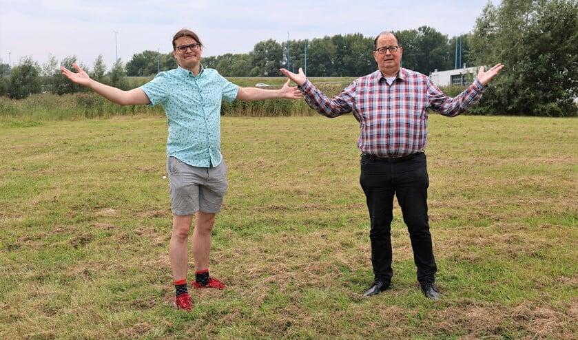 Yuri Nikerk en Rob Eichholtz (rechts) staan nog steeds met lege handen. Foto: Fred Roland