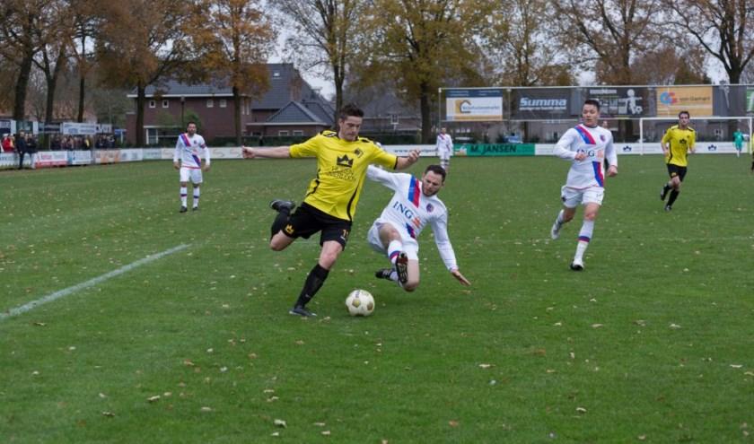SSS'18 won zondag in eigen huis verdiend van Sporting Heerlen. Foto: Albert Hendriks.