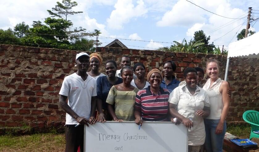Susan Geurts zet zich in voor alleenstaande moeders in Oeganda.
