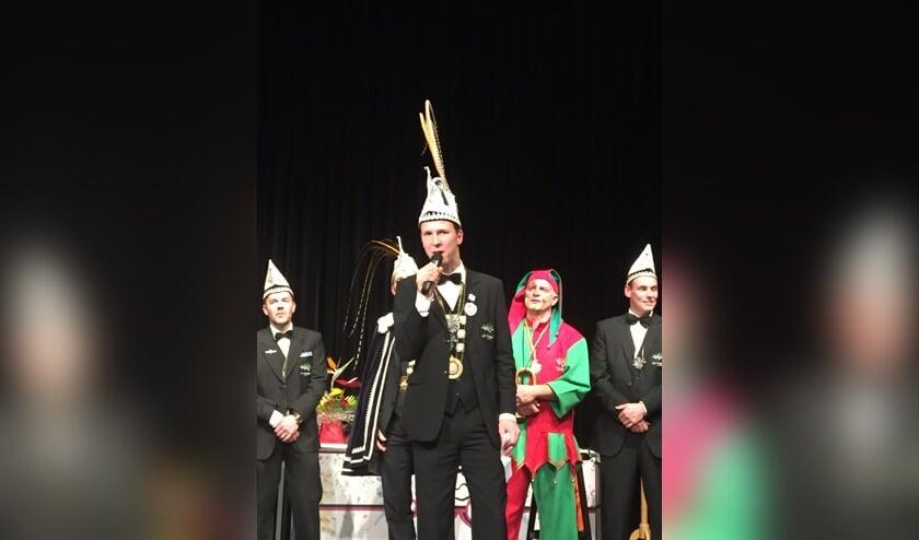 Arno Geurts is de nieuwe vorst van 't Knölleke in Leunen.